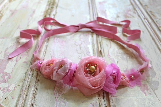 Kerry-Ann-Stokes-grosgrain-pinks-belt-crown-still