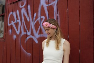 Kerry-Ann-Stokes-pinks-grosgrain-headband-christen