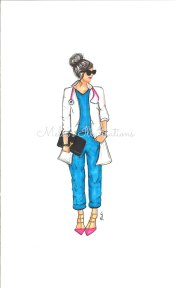 fashion nurse watermark