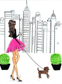 nycand poodle watermark