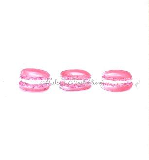 pink macarons watermark