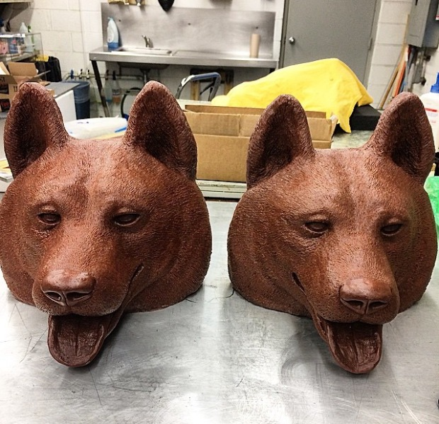 HUSKIES WAX MOLDS