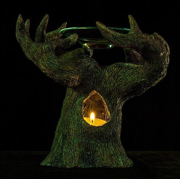 TREE OIL BURNER