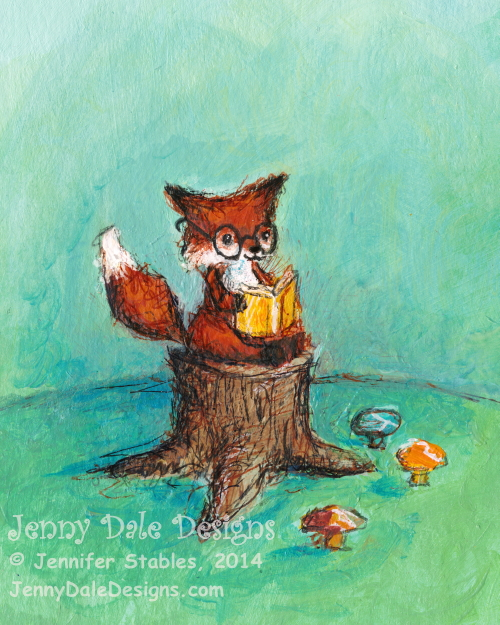 JennyDaleDesigns_fox_reading