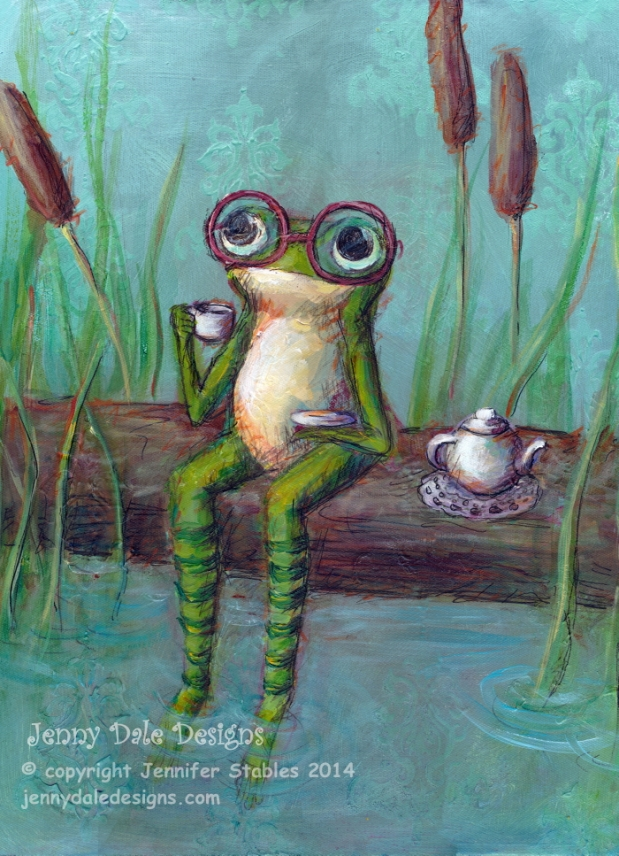 JennyDaleDesigns_Froggy_Tea_Time