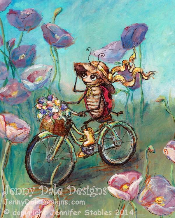 JennyDaleDesigns_Ladybug_Bicycle