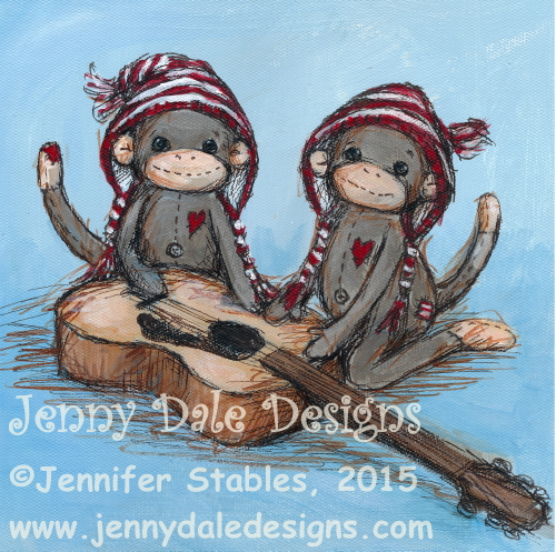 JennyDaleDesigns_sock_monkey_guitar