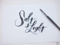 Salt+Light_Brush_Lettering