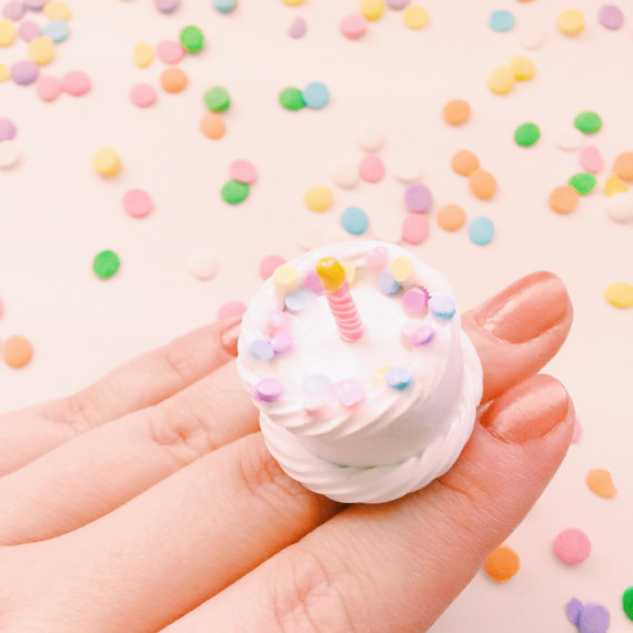 Birthday Cake Ring