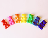 Rainbow Gummy Bear Beads