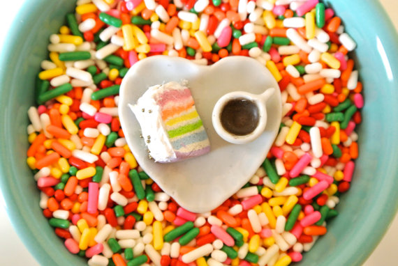Rainbow Layer Cake Ring