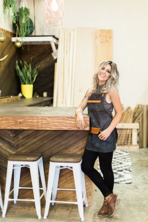 If You Give a Girl a Saw - Janine Stone _ Owner - Woodworker