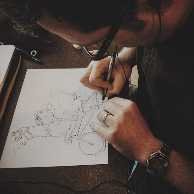 b-drawing