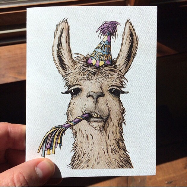 birthday-llama