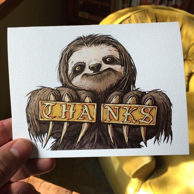 thanks-sloth
